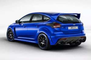 Ford Focus RS mk3 2015 back
