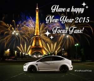 Ford Focus ST new year 2015