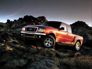 2004 Ford Ranger Wezwanie do Serwisów Forda
