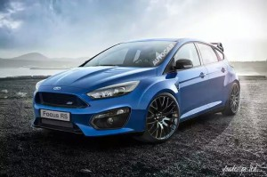 Nowy Ford Focus RS 2015 przód