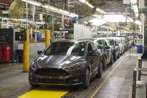 Ford Focus ST Linia produkcyjna