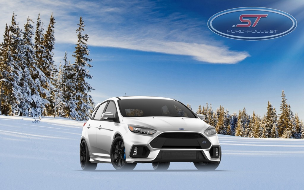 Ford Focus RS 2016 Snow Trailers
