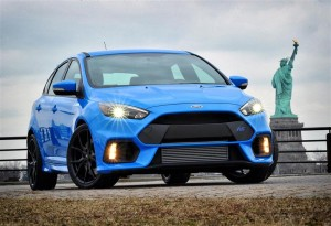 Front of Ford Focus RS 2016